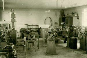 Werkstatt 1967 Holmelin Feinmechanik