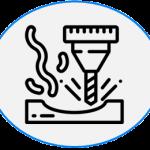 Icon CNC-Fräsen