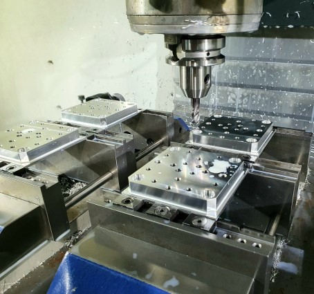 3-Achs CNC-Fräsen
