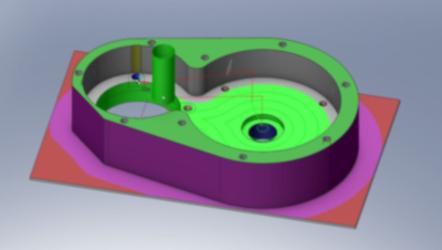 CNC-Bearbeitung CAD-CAM