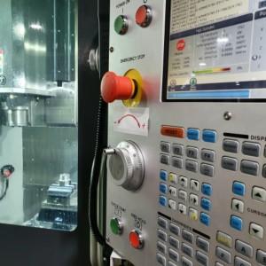 CNC-Bearbeitung CNC-Fräsen einstellen