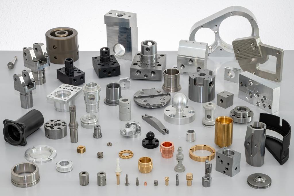CNC-Fräsen und CNC-Drehen Portfolio