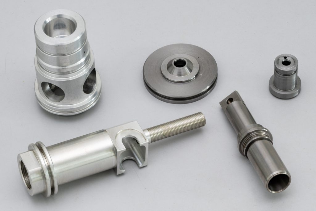 Teilespektrum CNC-Dreh-Fräsen