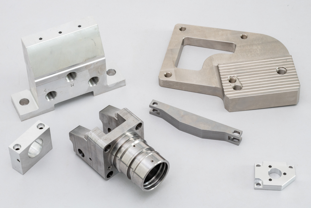Teilespektrum CNC-Fräsen
